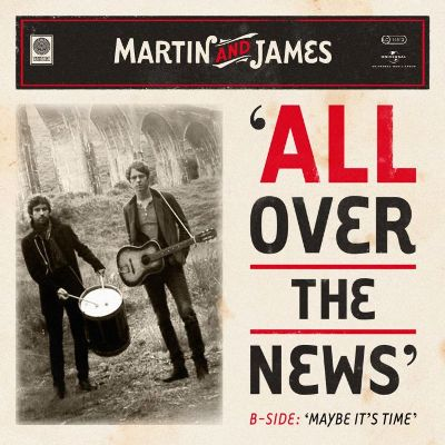 cover Martin and James - All over the news